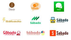 Logos autogenerados de Sábado...
