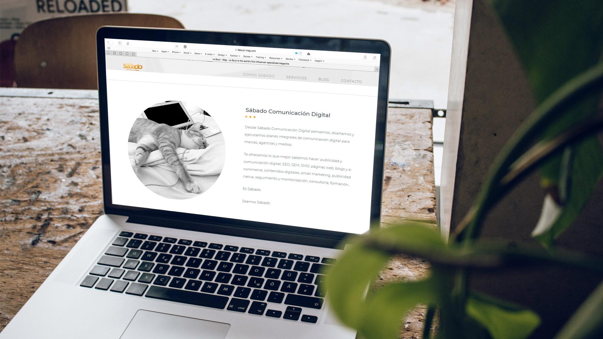 ¿Y la web pa cuándo? - Blog de Sábado Comunicación Digital