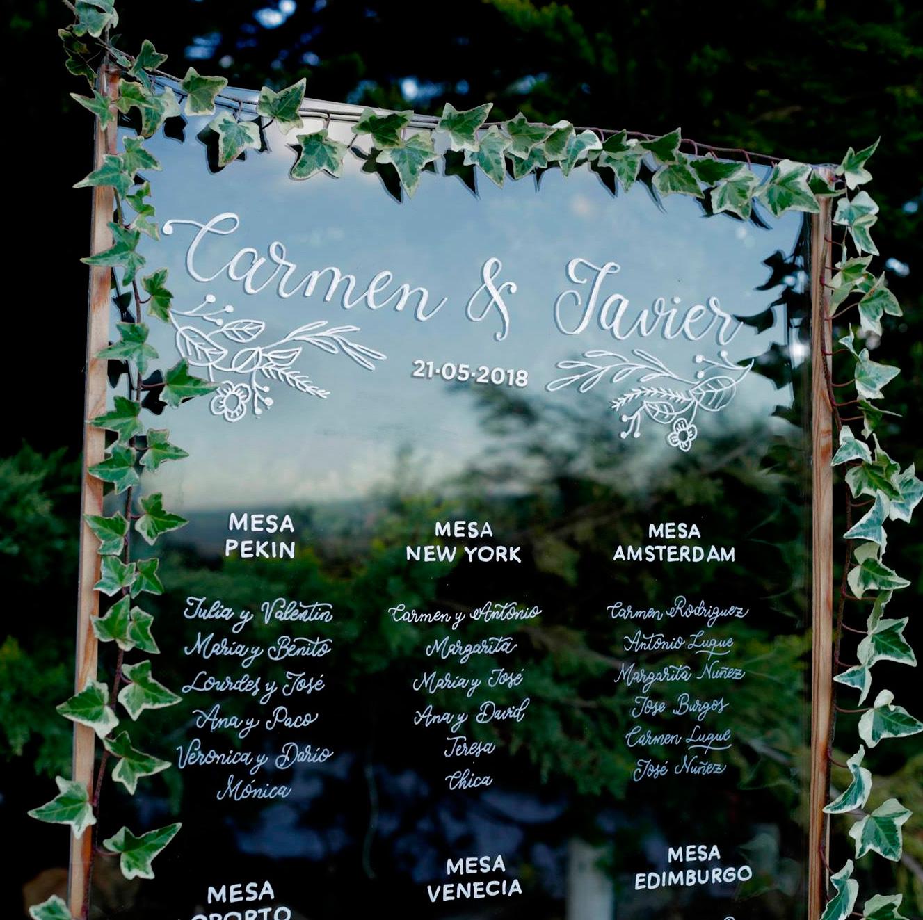 Lettering para bodas y eventos- Cristina Arévalo (Tipagráfica)