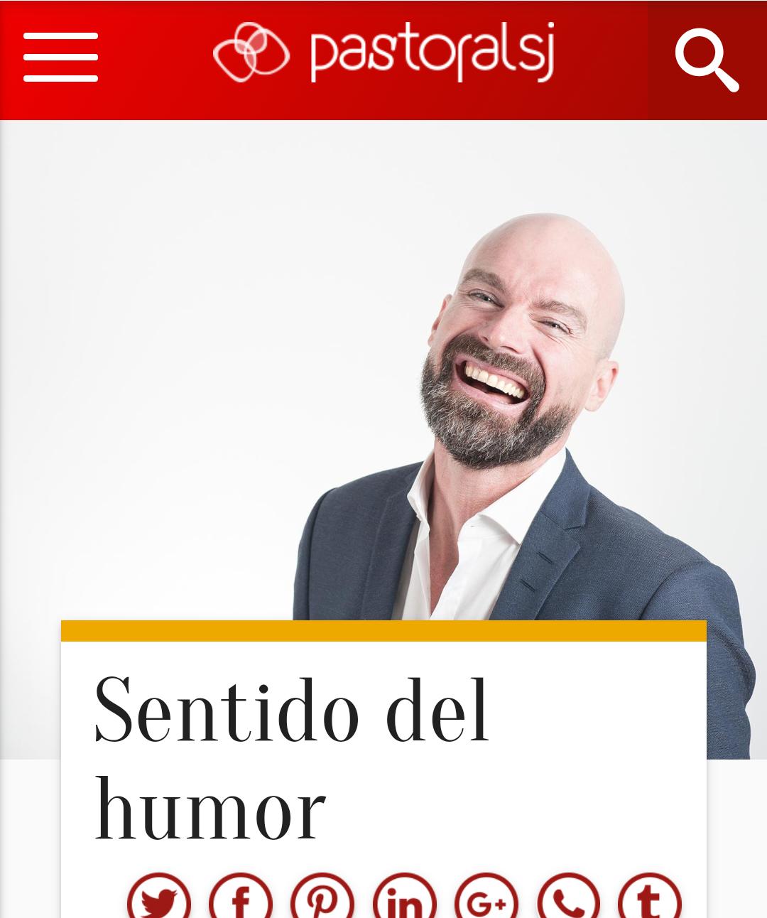 El hombre calvo que sonríe vale para todo - Blog de Sábado Comunicación Digital