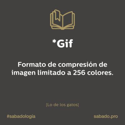 Gif | Sabadología, definiciones de marketing digital | Blog | Sábado Comunicación