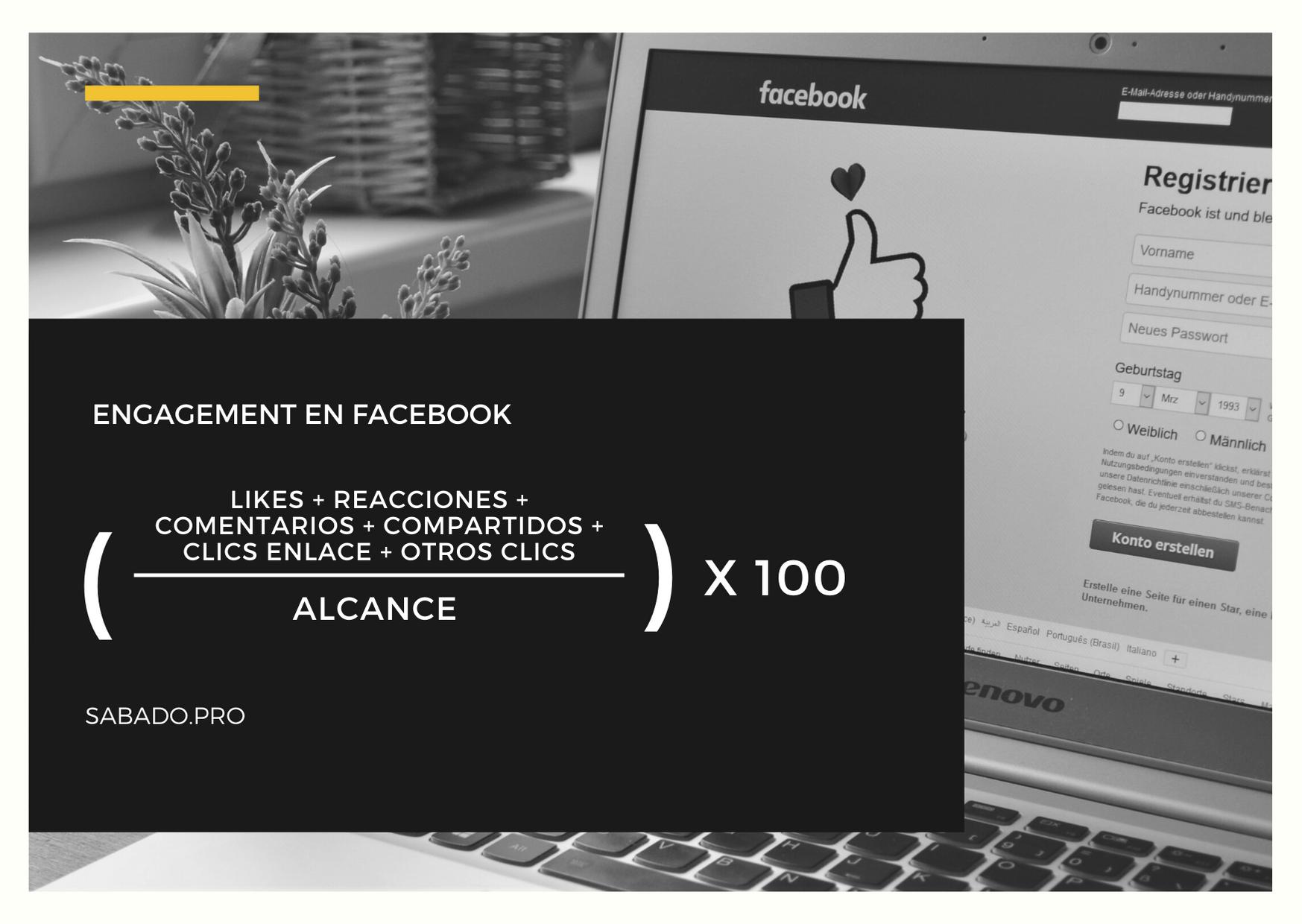 Calcular engagement en Facebook | Blog | Sábado Comunicación y Marketing Digital