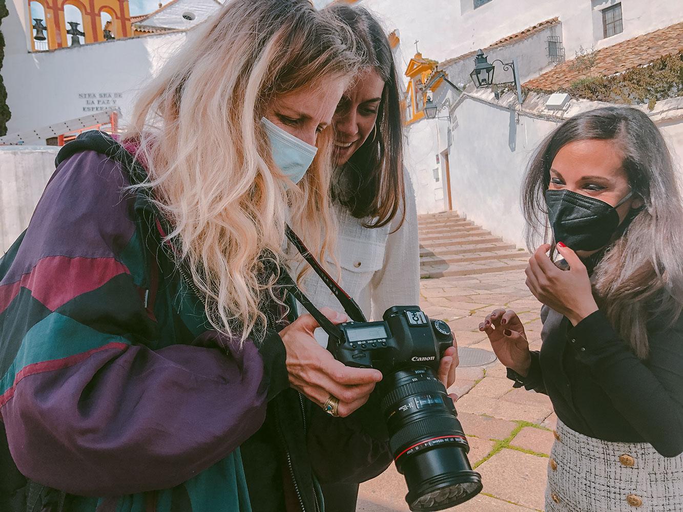 Sesi N De Fotos Con Pilar Poyatos S Bado Comunicaci N Y Marketing Digital 2 - Un Sábado Con Pilar Poyatos